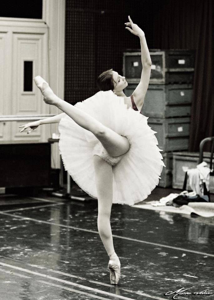 Svetlana Zakharova in rehearsal. Photo by Mário Veloso