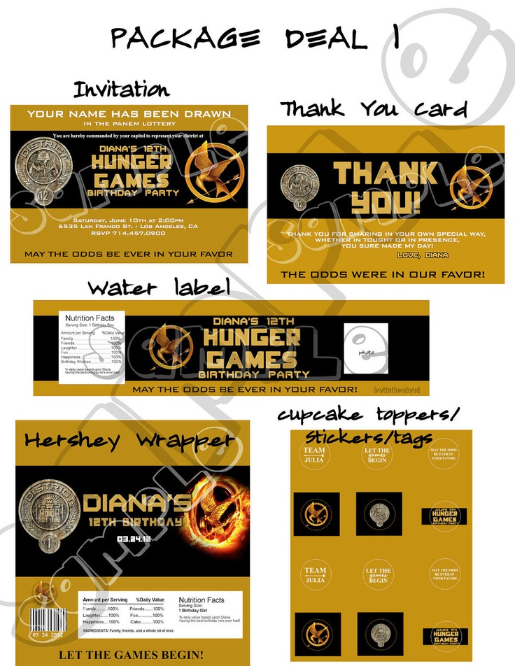88 best Hunger Games Party images on Pinterest | Game of, Board ...