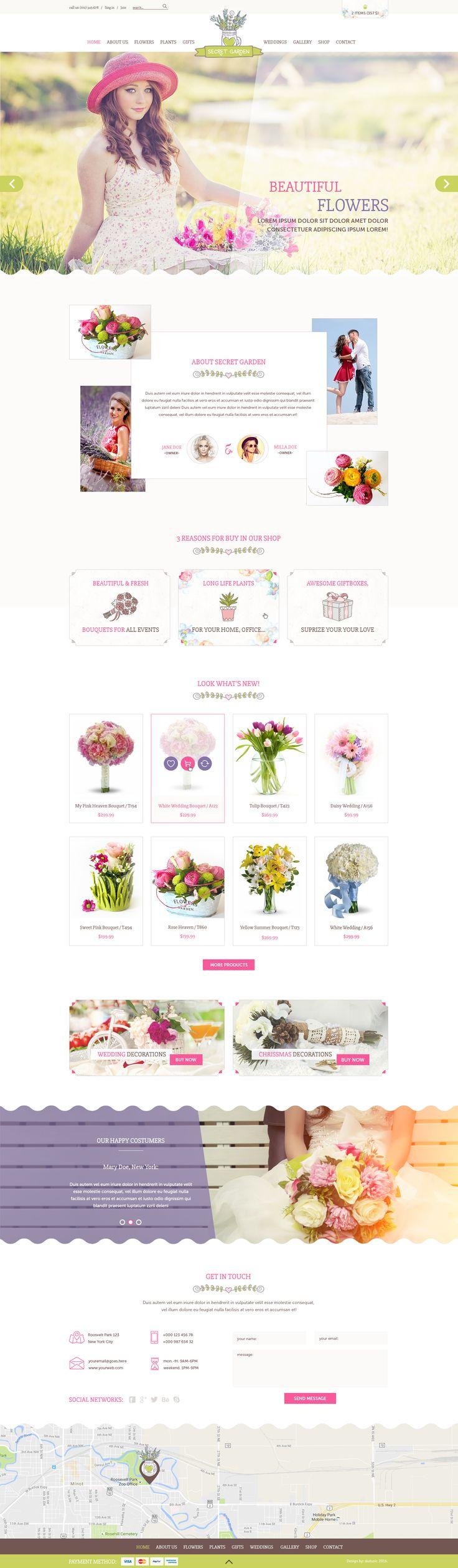 best flower shop images on pinterest design websites site