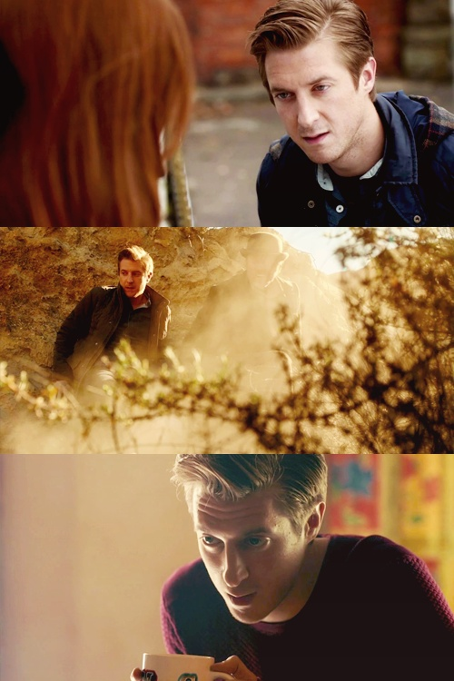 Rory quite honestly is not only one of my favorite characters on Doctor Who, but probably one of my favorite characters in general. He's just such a patient, loving, and caring person but if put into a situation where he needs to fight he will do so. Rory is just perfect.