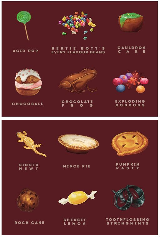 pottermore food