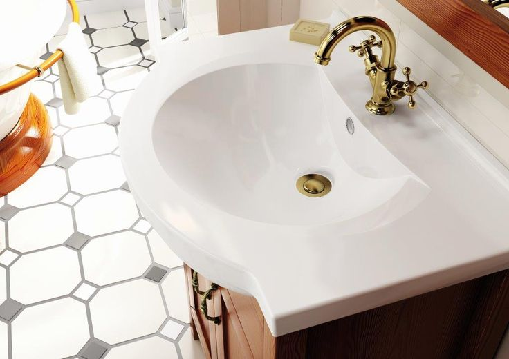 Umywalka/washbasin Rio 65. #elita #meble #lazienka #santos #bathroom #furniture #alder