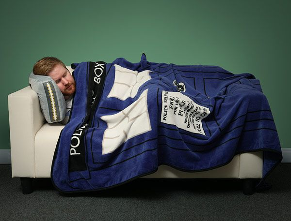 i'll be needing that...Exclusive Doctor Who TARDIS Throw Blanket :: ThinkGeek (( WANT. Would match my other Doctor Who blanket lol))