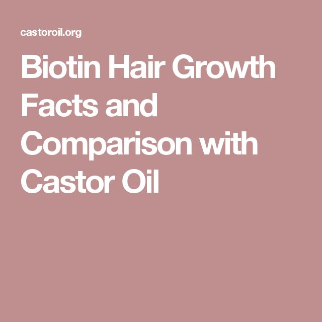 Biotin Hair Growth Facts and Comparison with Castor Oil