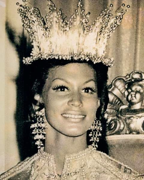 Today in Black History, 3/12/2014 - Jennifer Josephine Hosten was the first Black woman to win the Miss World contest in 1970. For more info, check out today's blog!