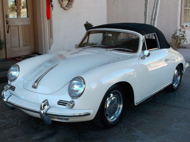 Restored 1964 Porsche 356SC Cabriolet
