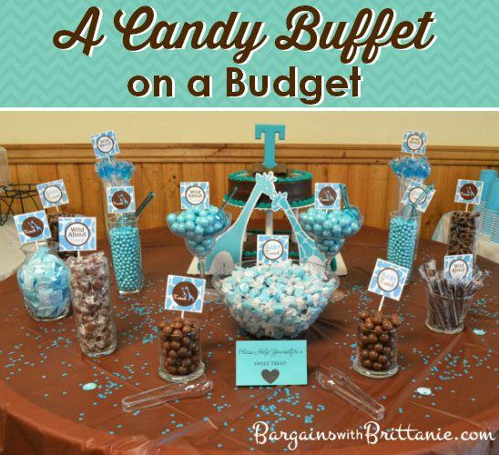A Candy Buffet on a Budget Simplistically Living