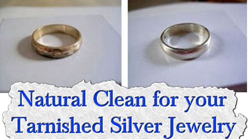 natural clean for your tarnished silver jewelry