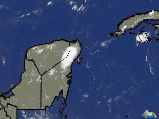 Mapas meteorológicos - Cozumel, México (Satellite Image)
