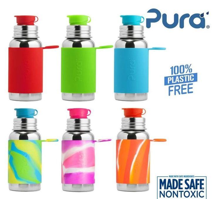 Die Pura Kiki Flaschen ist nicht nur gut für die Umwelt und deine Gesundheit, du sparst eine Menge Geld, da du nur eine Flasche fürs Leben kaufst. Garantiert durch die lebenslange Garantie von Pura!Die neue Isolierflasche hält Getränke mehr als 6 Stunden warm oder kalt. Dies wird durch eine doppelte Außenwand erreicht. Es wird weiterhin kein Plastik oder ähnliches verwendet.  Mit dem farbigen Sleeve setzt du einen Akzent, wer es jedoch schlichter mag, kann diesen einfach abnehmen.