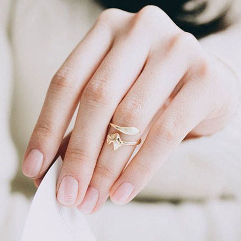 Buy As Seen on the Today Show: Delicate Fox Animal Ring in Platinum Plate by Alchemy Shop on OpenSky