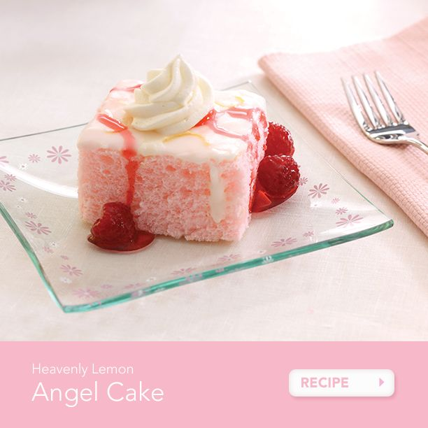 Heavenly Angel Food Cake Pampered Chef