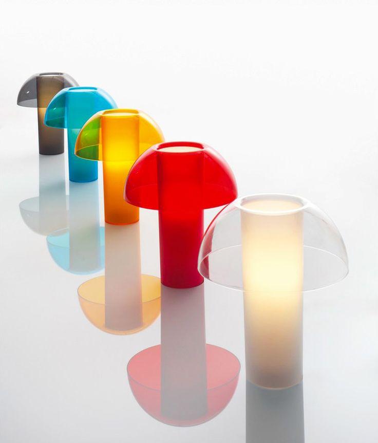 Carnival theme: masked and colourful pieces: Colette lamp, Alberto Basaglia - Natalia Rota Nodari, Pedrali, 2013