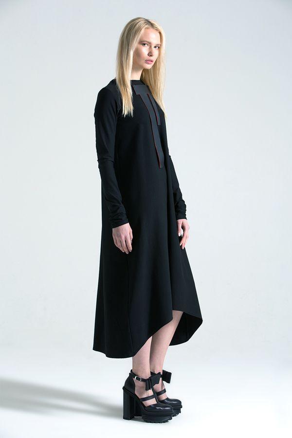 Triangle dress black