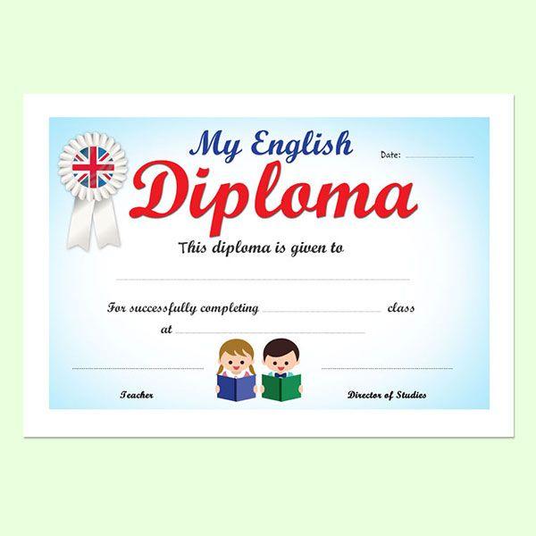 My english diploma 3