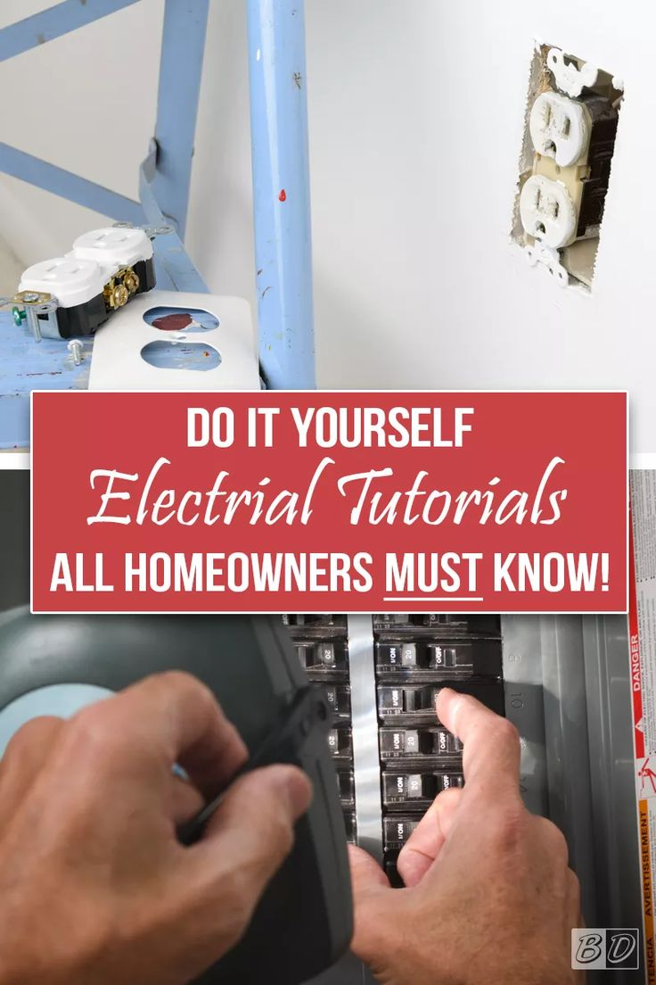 Don't get shocked! Click here and read The Exceedingly Comprehensive Guide To DIY Home Improvement for First-Time Homeowners, where we walk you through the simple steps of replacing a circuit breaker, replacing an outlet, how to tell if a wire is live, and SO MUCH MORE! No need to hire an electrician, these simple tutorials will help you wire your home like a pro!