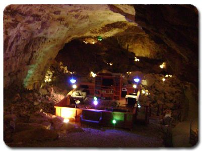 The Grand Canyon cave, 22 floors below ground. Just seen it on Billy Connolly's Route 66. I want to stay!