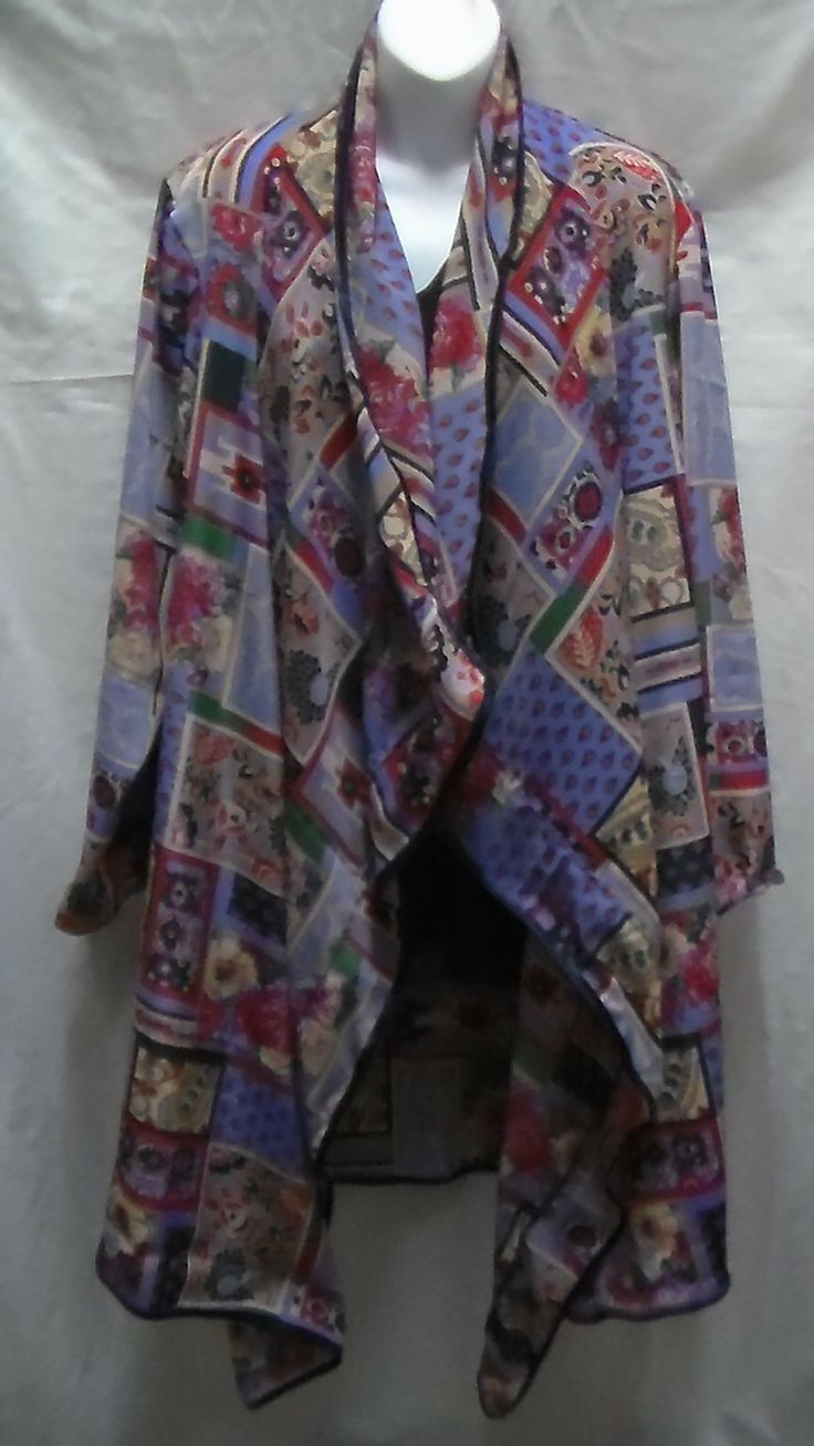 This is a Silk Light Weight Jacket for all seasons - its just lovely - sell on line and at the markets