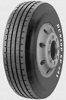 Грузовая всесезонная шина Dunlop SP241 для автоприцепов транспортных средств, осуществляющих региональные и дальнорейсовые перевозки. Предназначена для установки на прицепной оси.