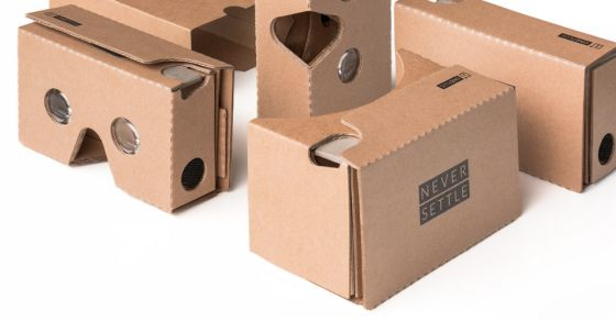 """TechCrunchWant Google s Cardboard VR Headset? OnePlus Is Giving Them Away For Free ...TechCrunchSince about 10 seconds after Google launched its do-it-yourself Cardboard virtual reality headset, other companies have been selling pre-made clones — and Google is totally fine with that. (Wondering WTF """"Cardboard"""" is? The short version: it s a ...OnePlus is giving away cardboard VR headsets in advance of OnePlus 2 launchThe Next WebOnePlus Now Se"""