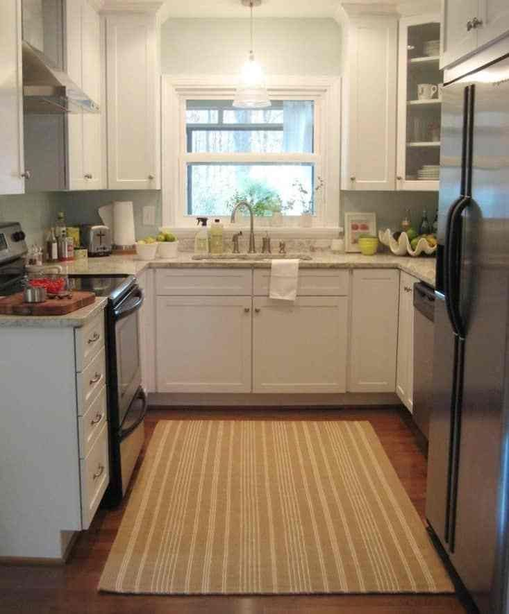 9 fascinating ideas for practical u shaped kitchen with images kitchen remodel small on u kitchen ideas small id=54980