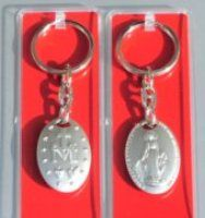 Miraculous Medal  Key Ring.