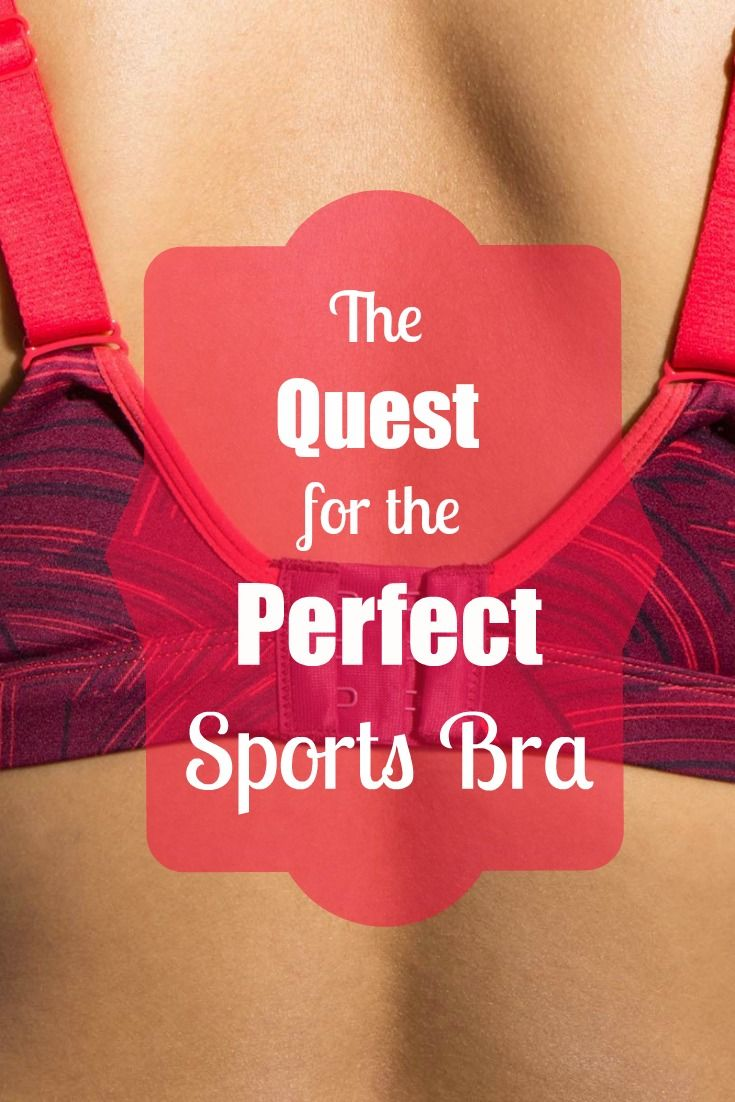 The Quest for the Perfect Sports Bra