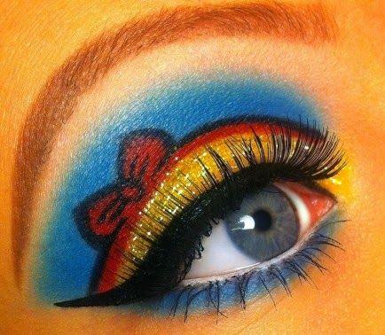 Maquillaje inspirado en Blancanieves. Tutorial.