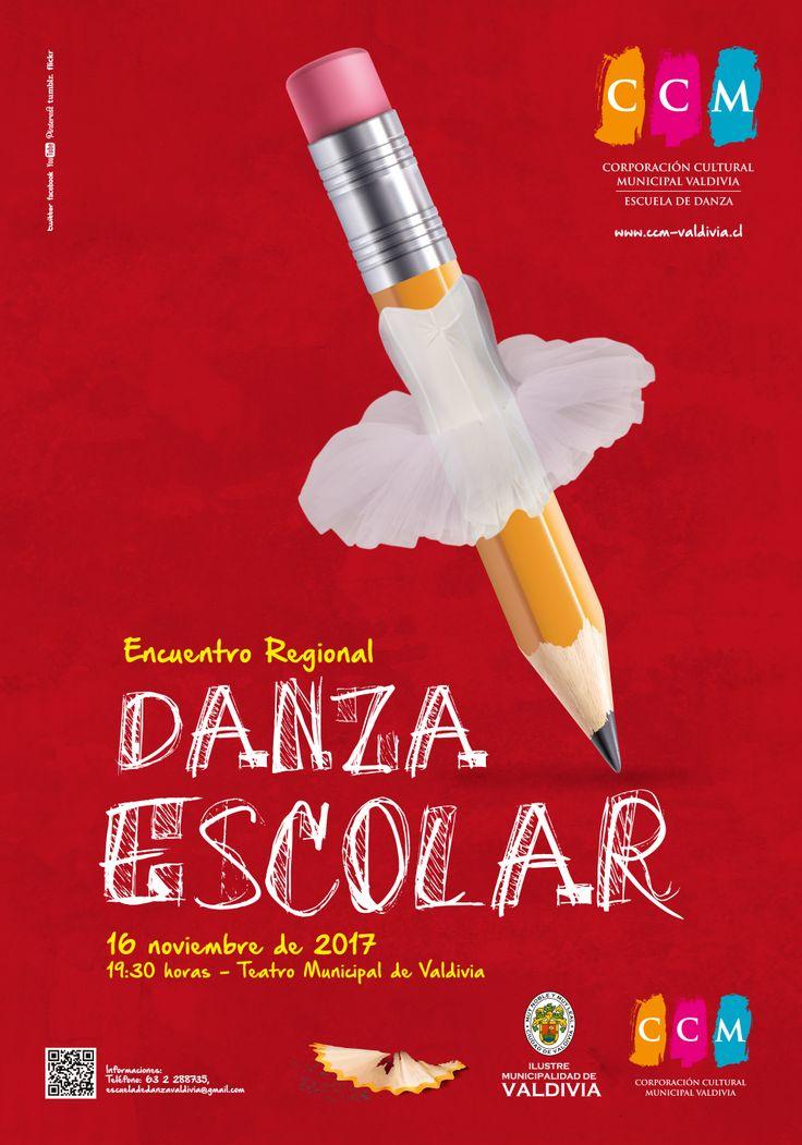 Afiche encuentro de Danza Escolar 2017