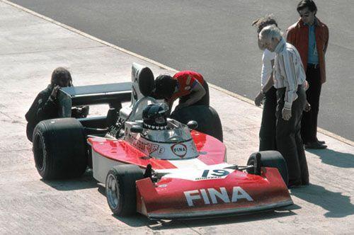 Helmut Koinigg Team Surtees TS16 Watkins Glen 1974