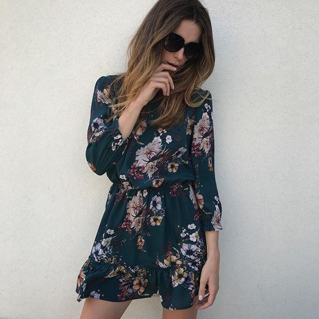 New dress, we love this print❤️