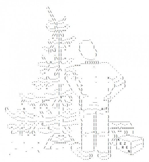 12 best ASCII Art images on Pinterest   Ascii art, Art google and ...