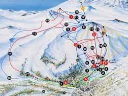 Termas de Chillan--Skiing in August in Chile!