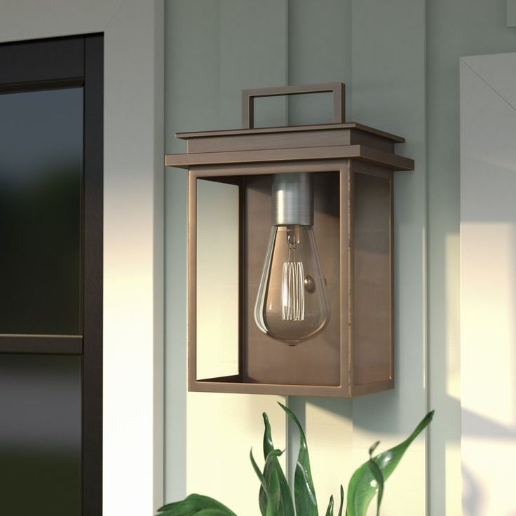 Krupa 1-Light Outdoor Flush Mount