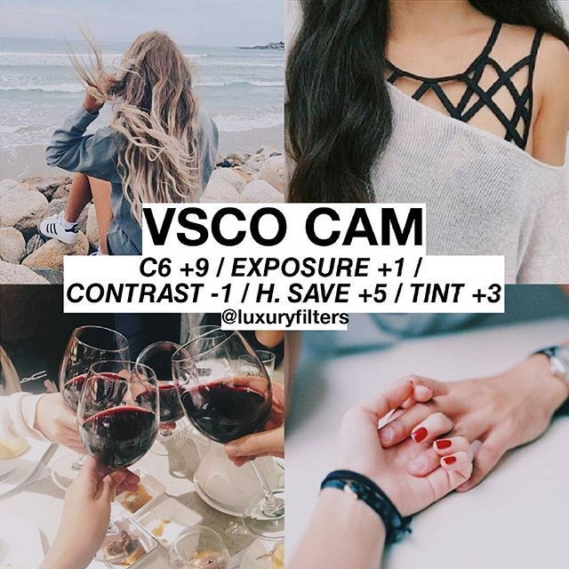 how to put a filter on a video using vsco