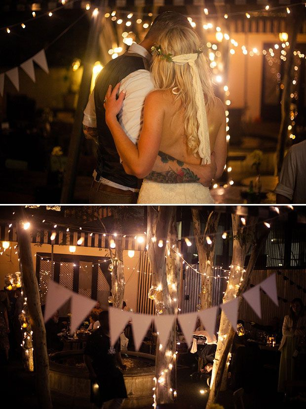 Wonderful wedding in Durban beach, South Africa. Rhys & Kelly in Alabama wedding dressby YolanCris.