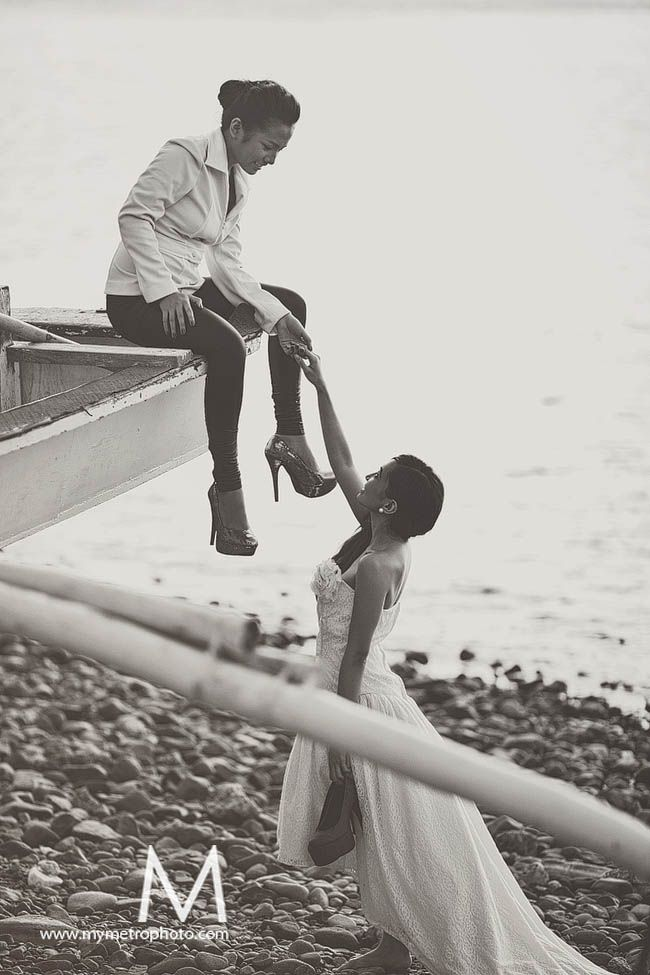 #lesbian #engagement #photo  This is so sweet!