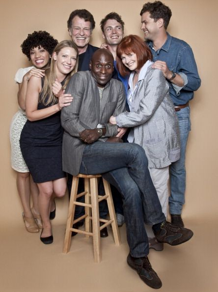 The Cast of Fringe is photographed at Comic Con Festival for TV Guide Magazine on July 23, 2011
