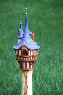 Rapunzel tower cake is over 3 feet tall!