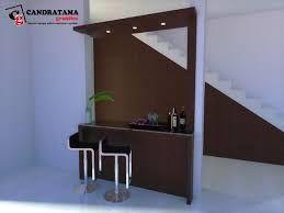 interior kediri - interior malang - interior jombang - interior blitar - interior nganjuk - mini bar - bawah tangga - minimalis