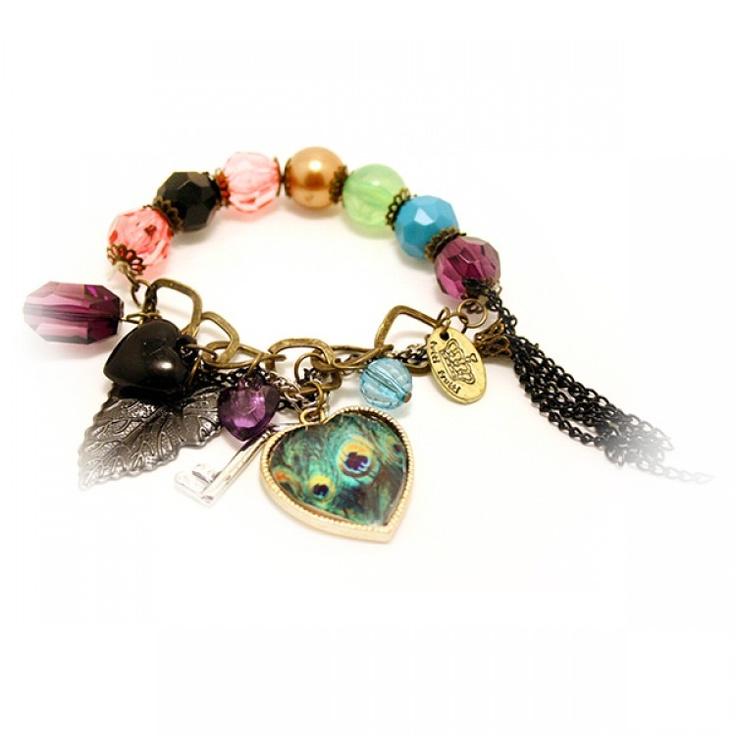 Le bracelet Paon