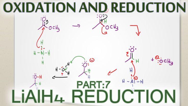 Lithium Aluminum Hydride LiAlH4 Reduction Reaction + Mechanism