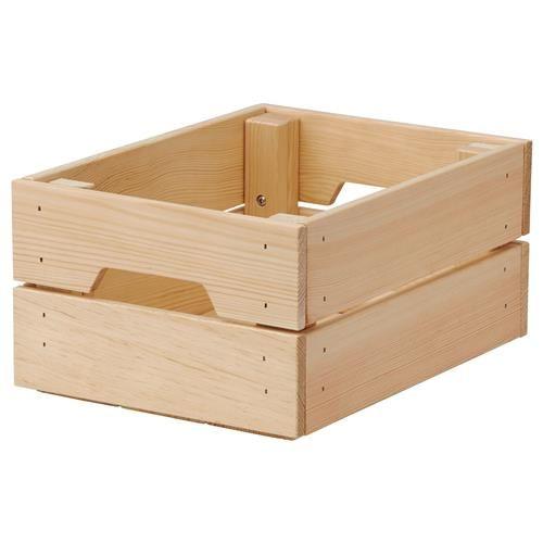 KNAGGLIG κουτί, πεύκο - IKEA