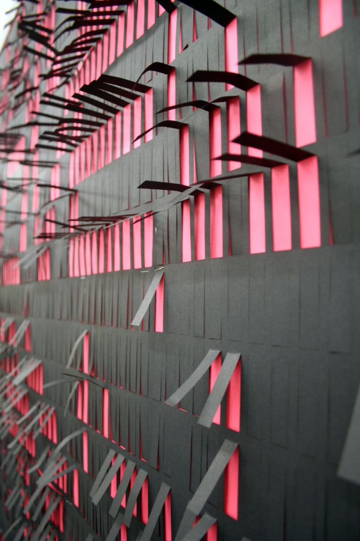 Hester/Experimental Typography Installation/Tab Wall
