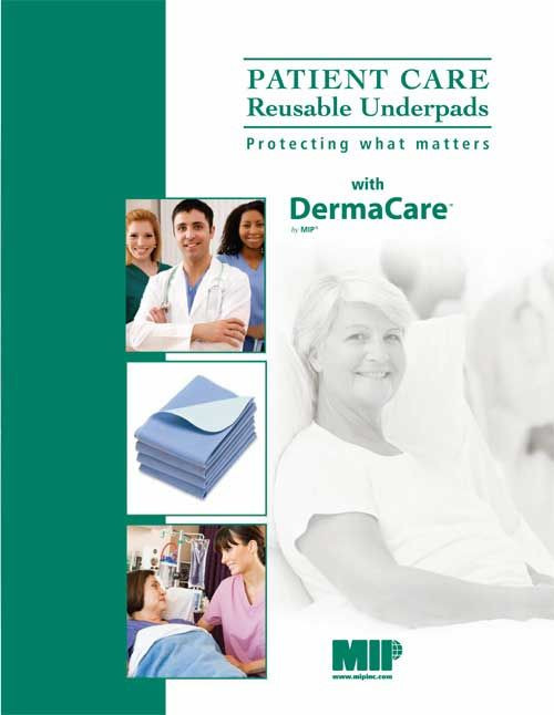 Protecting what matters - with the DermaCare Patient Care Underpad! http://www.mipinc.com/links/DermaCareBrochure2013.pdf