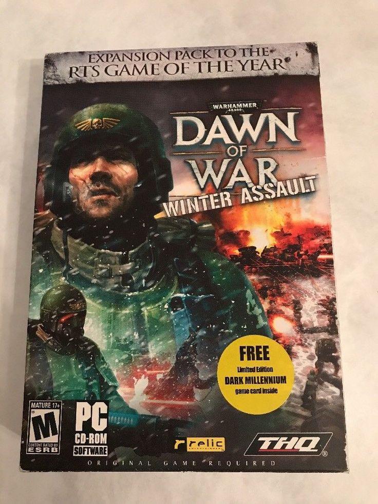PC GAME WARHAMMER 40K DAWN OF WAR WINTER ASSAULT GoTY Win