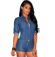 Women Clothing Summer Shirt Bodysuit Women Playsuits Romper Ladies Jumpsuits