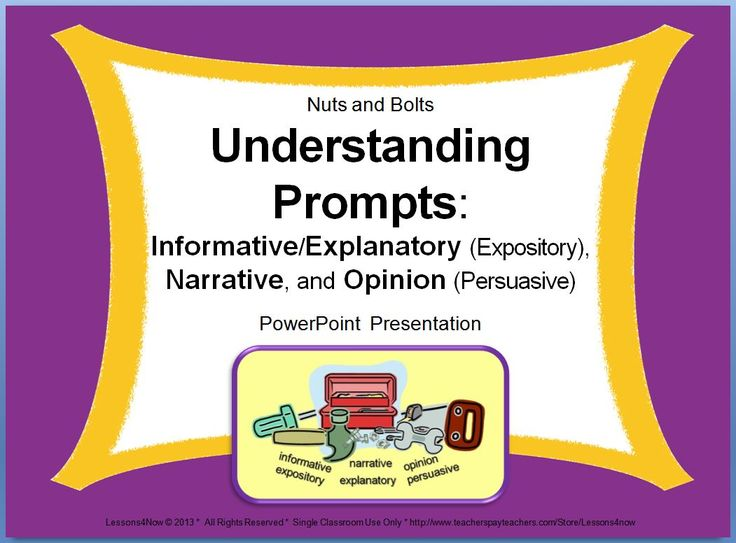 types of expository essays powerpoint The five-step writing process for expository essays expository writing is a life skill more than any other type of writing, expository writing is a daily requirement of most careers.