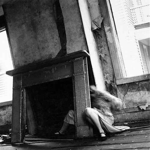 Francesca Woodman - House, Providence, Rhode Island, 1975-1976.