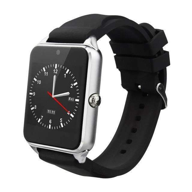 Smart Watch Gt08 Clock With Sim Card Slot Push Message Bluetooth Connectivity Android Phone